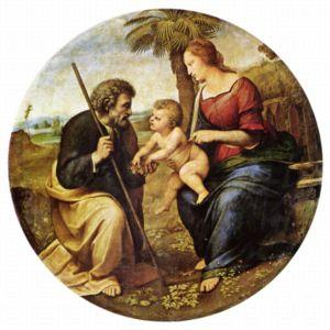 Picture of the Holy Family ,by Raphael 25